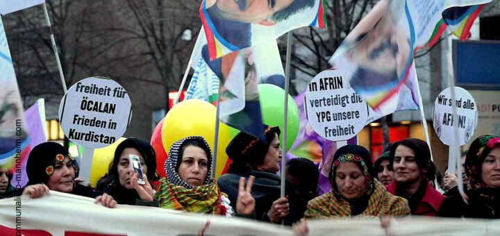 Konföderation der Gemeinschaften Kurdistans in Deutschland e.V. lädt am 09.02. zu einer Kundgebung ein (mit Kommentar)