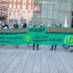 """""""Keine leeren Versprechen mehr"""" - Fahrraddemo für Klimagerechtigkeit [mit Bildergalerie]"""