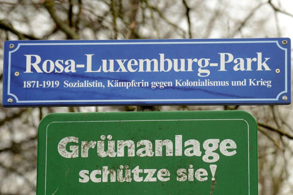 Ein Park für Rosa Luxemburg!