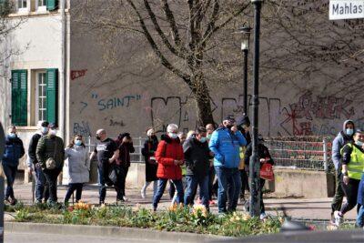 Covid19: Bündnis in Frankenthal distanziert sich von Pseudo-Gastronomen-Demo mit 300 Teilnehmerinnen am 27.03.2021