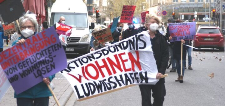 Housing Action Day 2021: Aktionen in Ludwigshafen