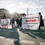 GKM-Blockade: Solidemo nach Urteil gegen Klimaaktivisten [Videobeitrag und Bildergalerie]