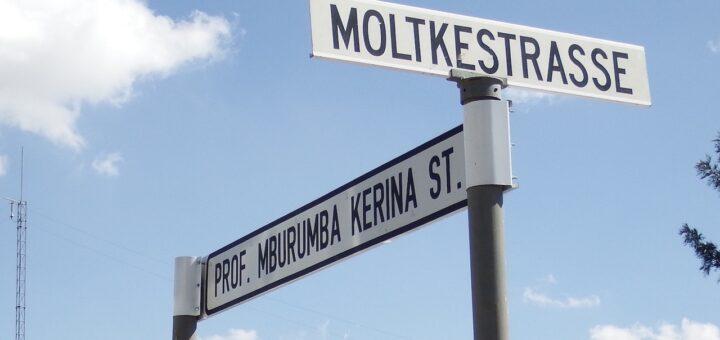 Koloniale Straßennamen von Windhoek bis Mannheim