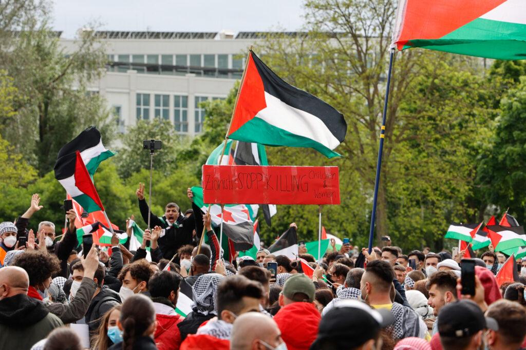 Eindrücke von der FreePalestine-Demo