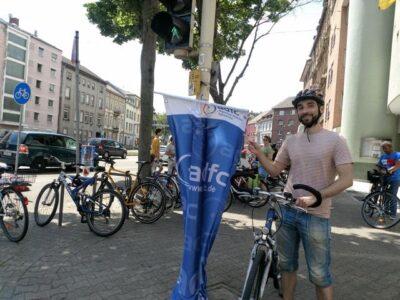 Weltfahrradtag: Aktionstag am Luisenring