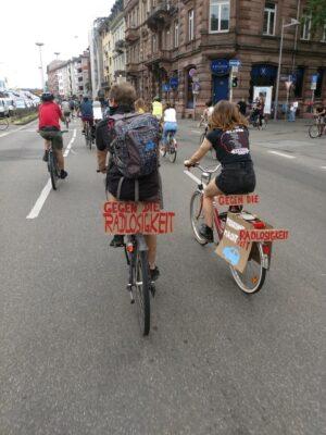 Masterplan Mobilität Mannheim: VCD und ADFC fordern eine Verdoppelung des Radverkehrs in Mannheim