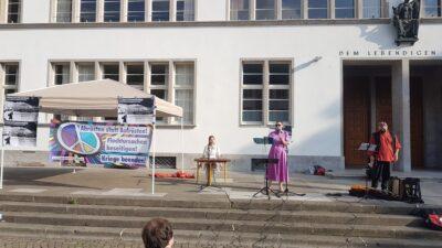 Gedenkveranstaltung in Heidelberg zum 80. Jahrestag des Überfalls Hitlerdeutschlands auf die Sowjetunion