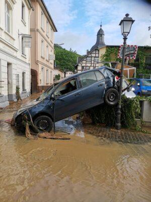 Unwetterkatasthrophe in Rheinland-Pfalz: DIE LINKE in Speyer initiert Spendenaktion (mit Fotogalerie)